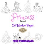 The Activity Mom   Princess Dot Marker Pages (Printable)   The | The Printable Princess Worksheets