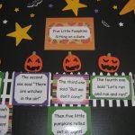 The Alphabet Garden: Five Little Pumpkins! | Five Little Pumpkins Printable Worksheet