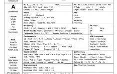 Printable Nursing Worksheets