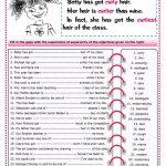 The Superlative Worksheet   Free Esl Printable Worksheets Made   Comparative Worksheets Printable