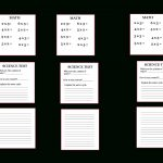 This Is A Tutorial For Easy School Supplies For Your Dolls. Work | My Froggy Stuff Printables Worksheets