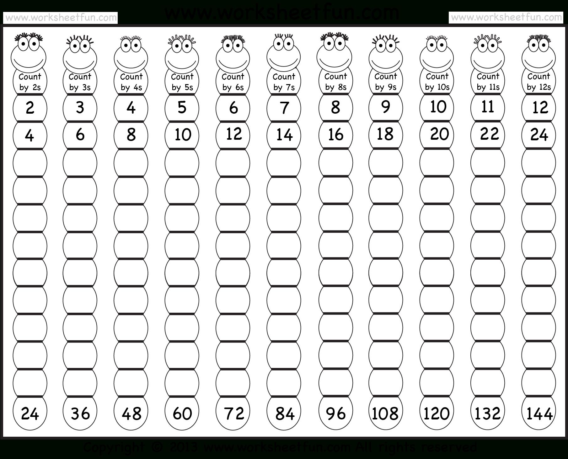 Times Table – 2-12 Worksheets – 1, 2, 3, 4, 5, 6, 7, 8, 9, 10, 11 | Multiplication Tables 1 12 Printable Worksheets