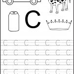 Trace The Letter C Worksheets | Alphabet And Numbers Learning | Free Printable Preschool Worksheets Letter C