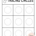 Tracing Circles Worksheets To Build A Solid Writing Skills | Circle Printable Worksheets