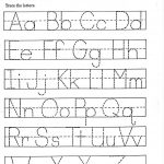 Tracing Papers For Kindergarten – Koran.sticken.co | Free Printable Abc Tracing Worksheets