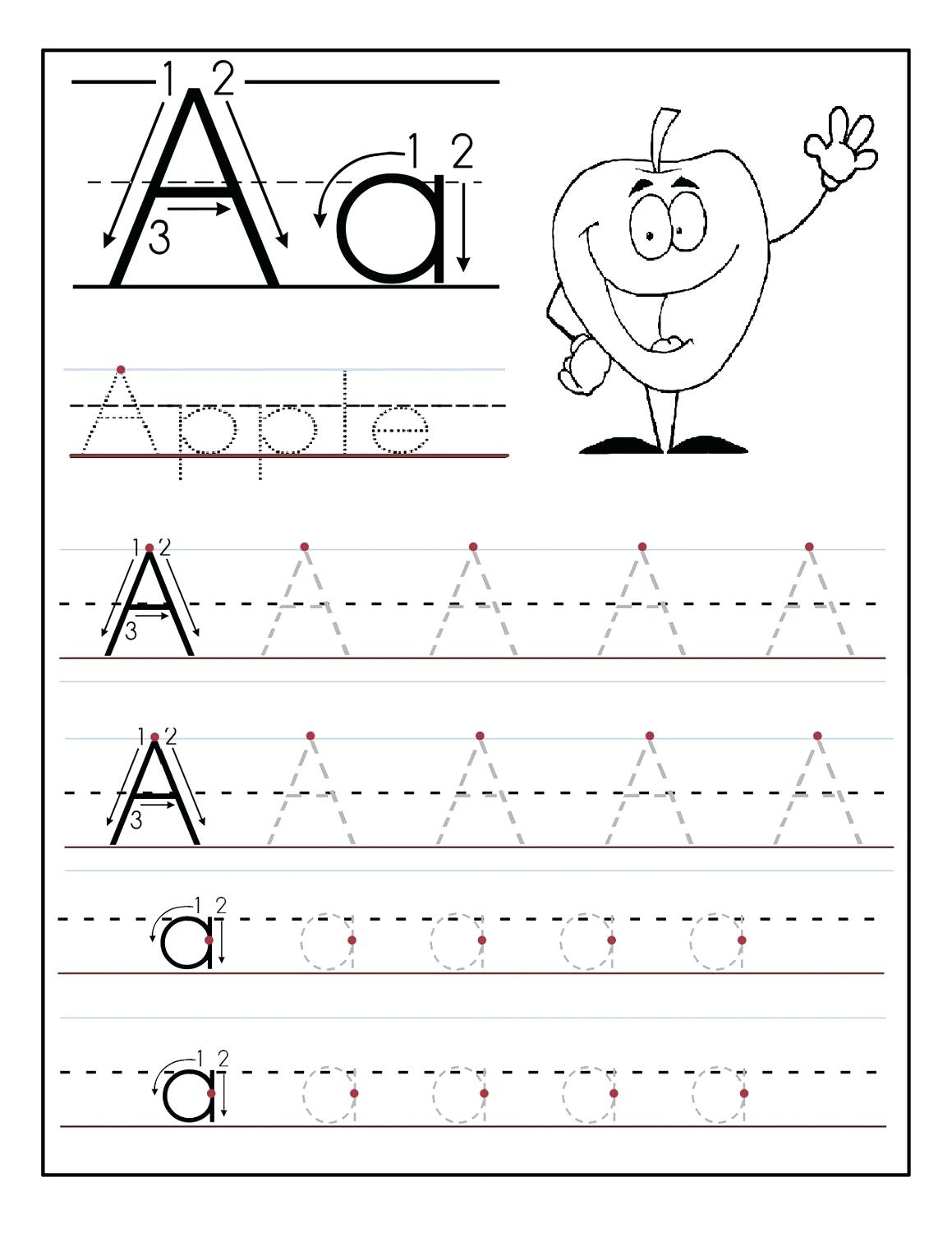 Tracing The Alphabet Printable – Cartofix.club | Printable Printing Worksheets
