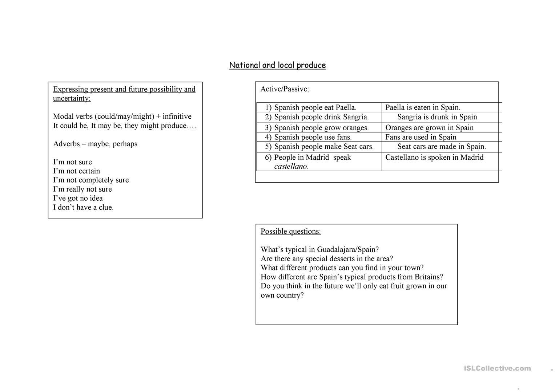 Trinity Gese Grade 7 Revision Worksheet - Free Esl Printable | Grade 7 English Worksheets Printable