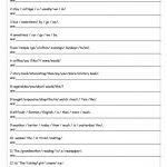 Unscramble Sentences Worksheet   Free Esl Printable Worksheets Made | Free Printable Scrambled Sentences Worksheets
