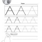 Uppercase Letter Tracing Worksheets (Free Printables)   Doozy Moo | Printable Printing Worksheets