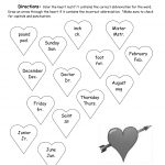 Valentine's Day Printouts And Worksheets | Free Printable Valentine Math Worksheets
