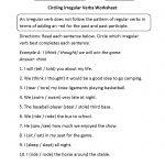 Verbs Worksheets | Irregular Verbs Worksheets | Free Printable Irregular Verb Worksheets
