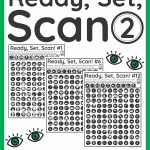 Visual Scanning Exercises   Ready Set Scan Level 2   Your Therapy Source | Printable Visual Scanning Worksheets For Adults