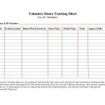 Volunteer+Hours+Log+Sheet+Template | Forms | Community Service Hours | Community Service Printable Worksheets