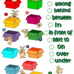 Where's The Dog   Prepositions Of Place Worksheet   Free Esl   Free Printable Worksheets For Prepositions