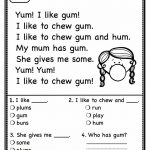 Worksheet : Free Printable Reading Comprehension Worksheets For 4Th | Printable Reading Worksheets