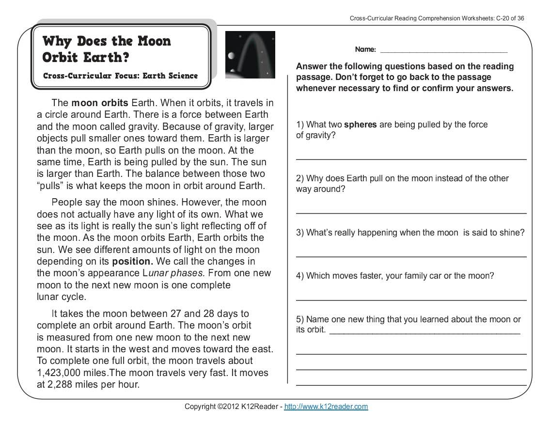 Worksheet : Kids Science Comprehension Worksheets Reading Comprehens | Free Printable Comprehension Worksheets Ks1