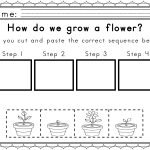Worksheets For Sequencing In Spring | Obc General Teaching Ideas | Free Printable Sequencing Worksheets For 1St Grade