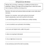 Writing Worksheets | Editing Worksheets | Printable Editing Worksheets